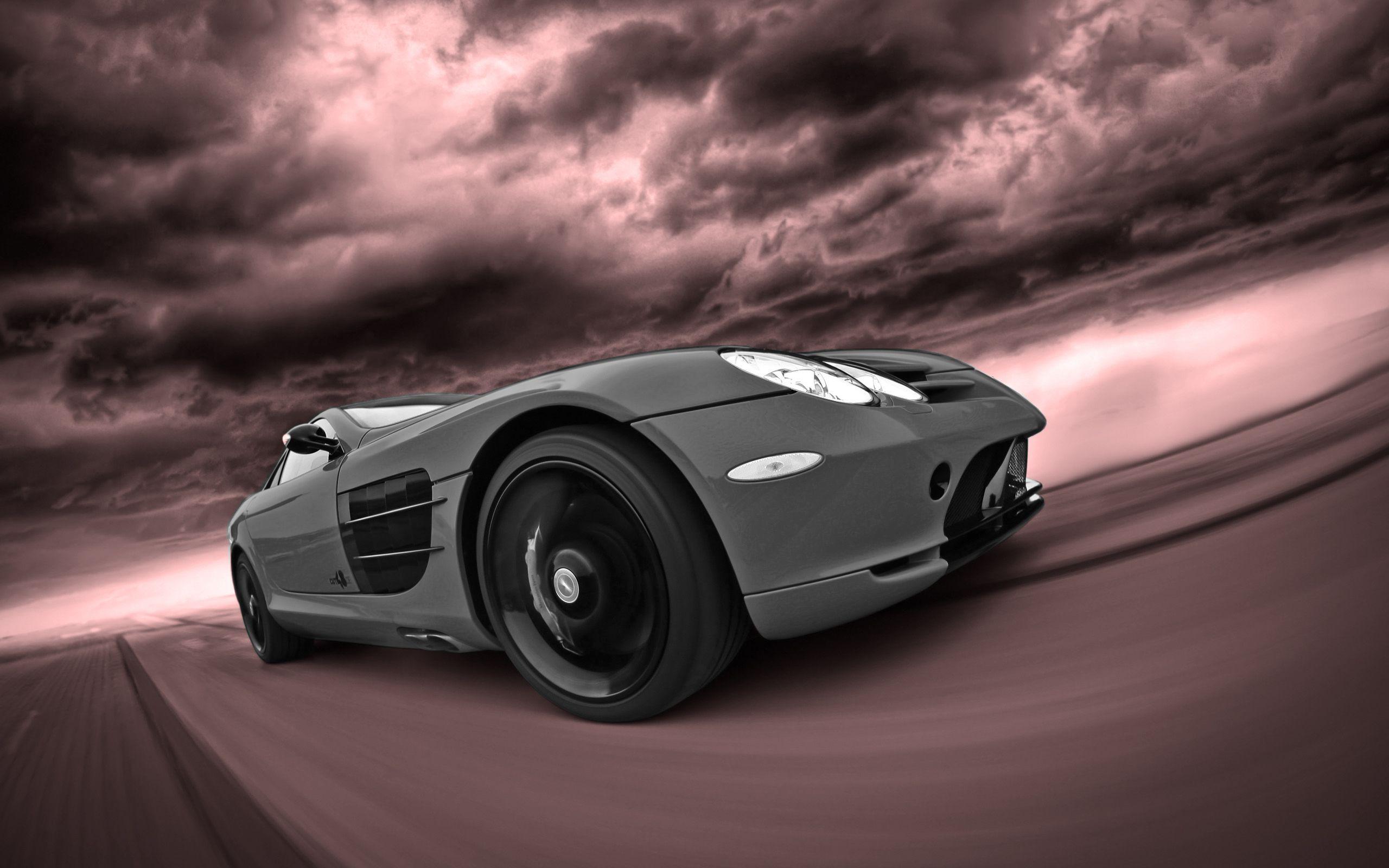 Mercedes-Benz-SLRGREY